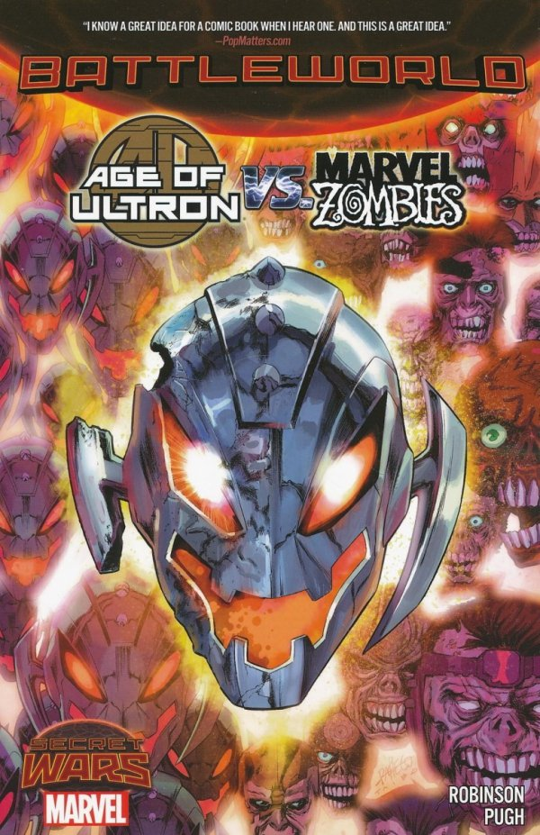 AGE OF ULTRON VS MARVEL ZOMBIES BATTLEWORLD SC