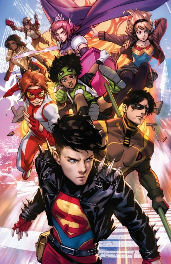 YOUNG JUSTICE #18 CVR B *