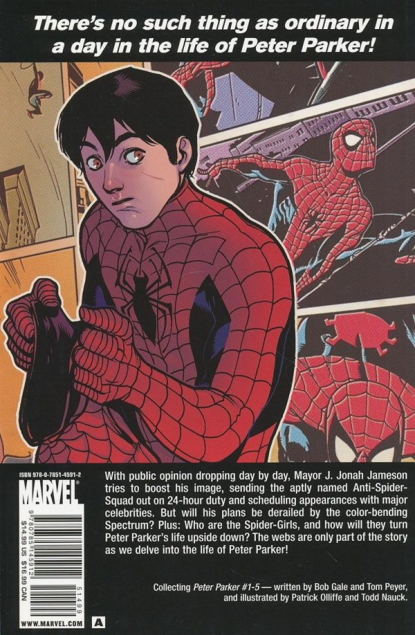 SPIDER-MAN PETER PARKER SC