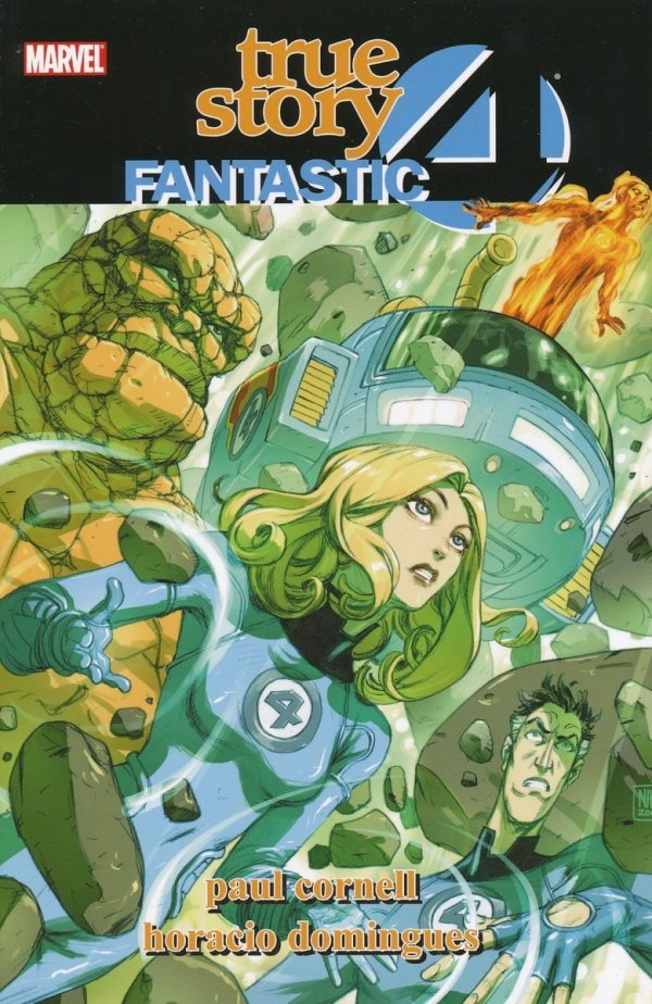 FANTASTIC FOUR TRUE STORY SC *