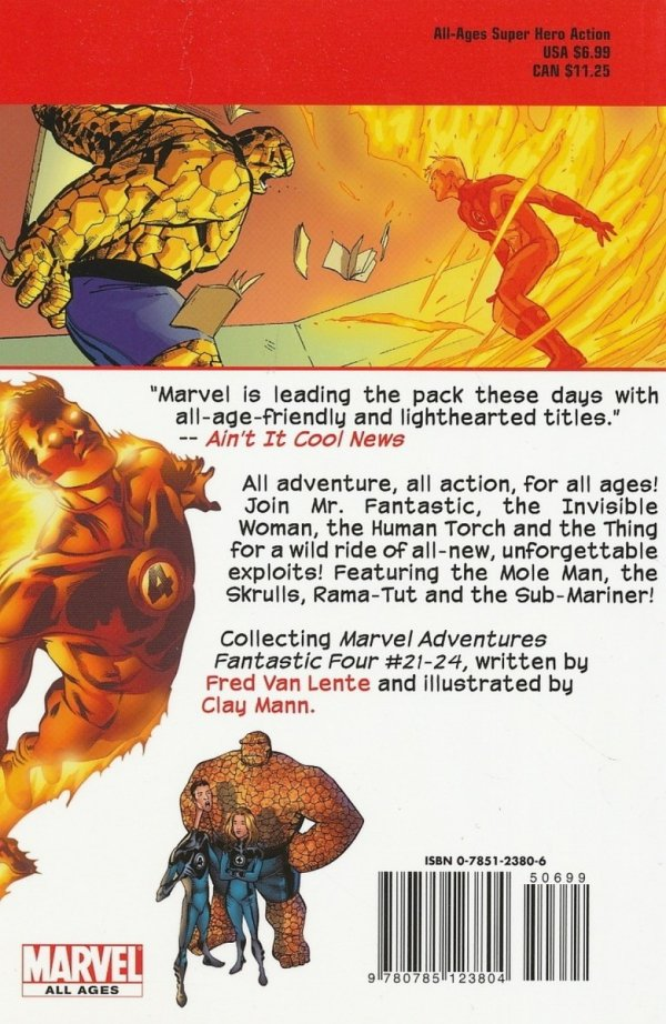 MARVEL ADVENTURES FANTASTIC FOUR VOL 06 DIGEST SC *