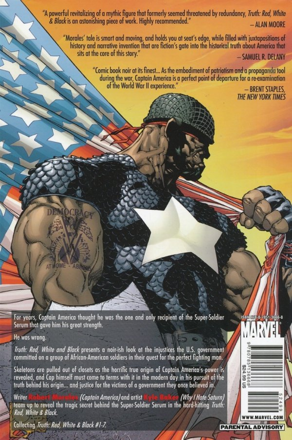 CAPTAIN AMERICA TRUTH HC *