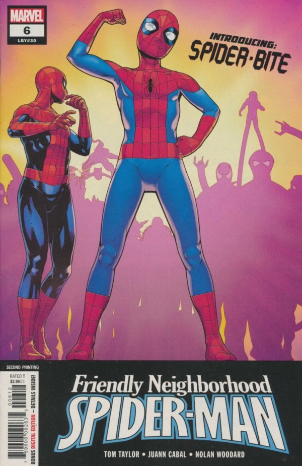 FRIENDLY NEIGHBORHOOD SPIDER-MAN #6 2ND PTG