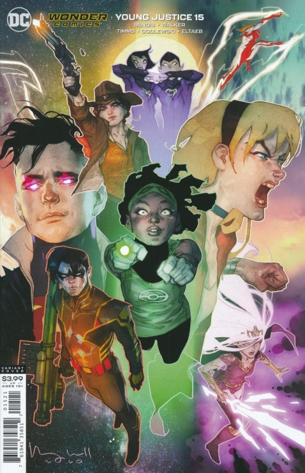 YOUNG JUSTICE #15 VAR