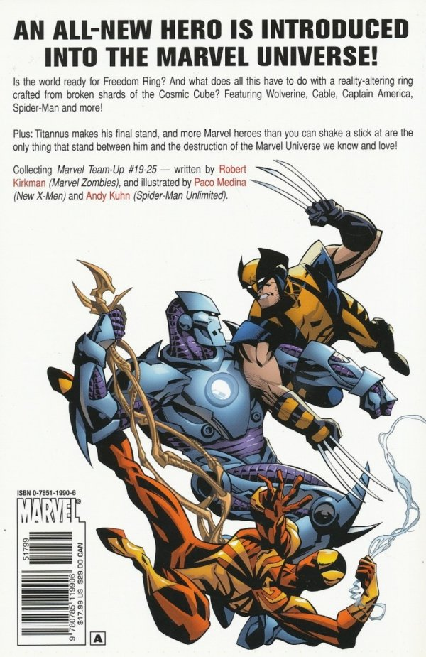 MARVEL TEAM-UP VOL 04 FREEDOM RING SC