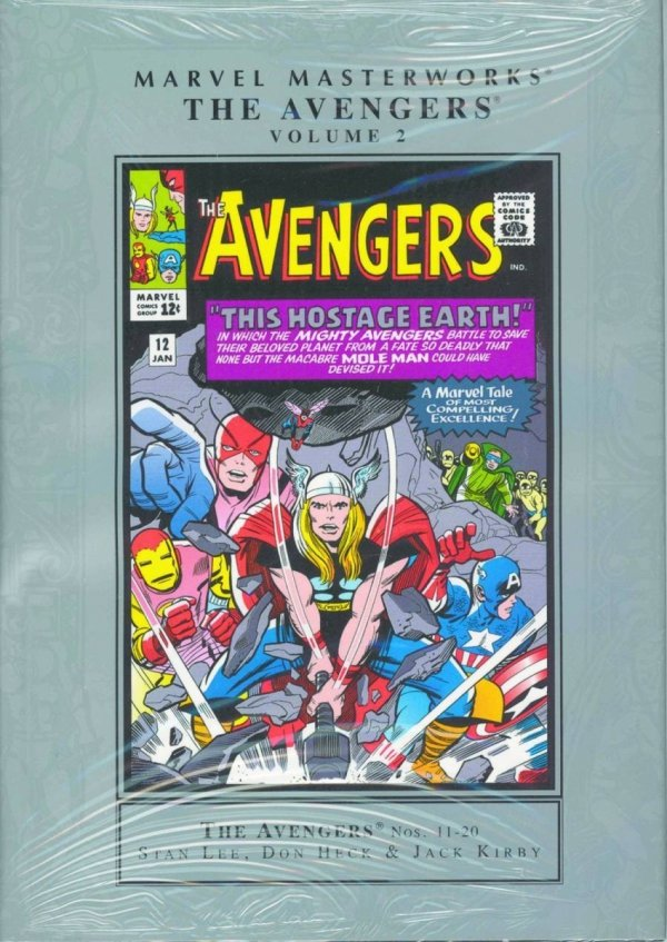 MARVEL MASTERWORKS THE AVENGERS VOL 02 HC (OLD EDITION) (STANDARD COVER) *
