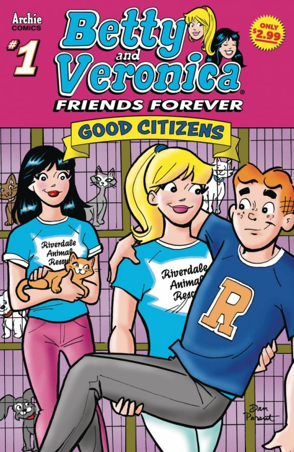 BETTY &VERONICA FRIENDS FOREVER GOOD CITIZEN #1 *