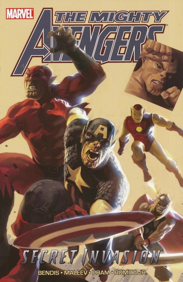 MIGHTY AVENGERS VOL 03 SECRET INVASION BOOK 1 SC