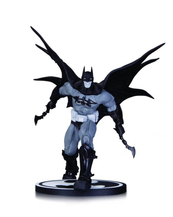BATMAN BLACK AND WHITE BATMAN BY DANDA STATUE
