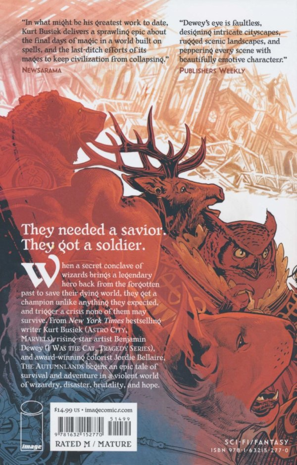 AUTUMNLANDS VOL 01 TOOTH AND CLAW SC (NEW EDITION)