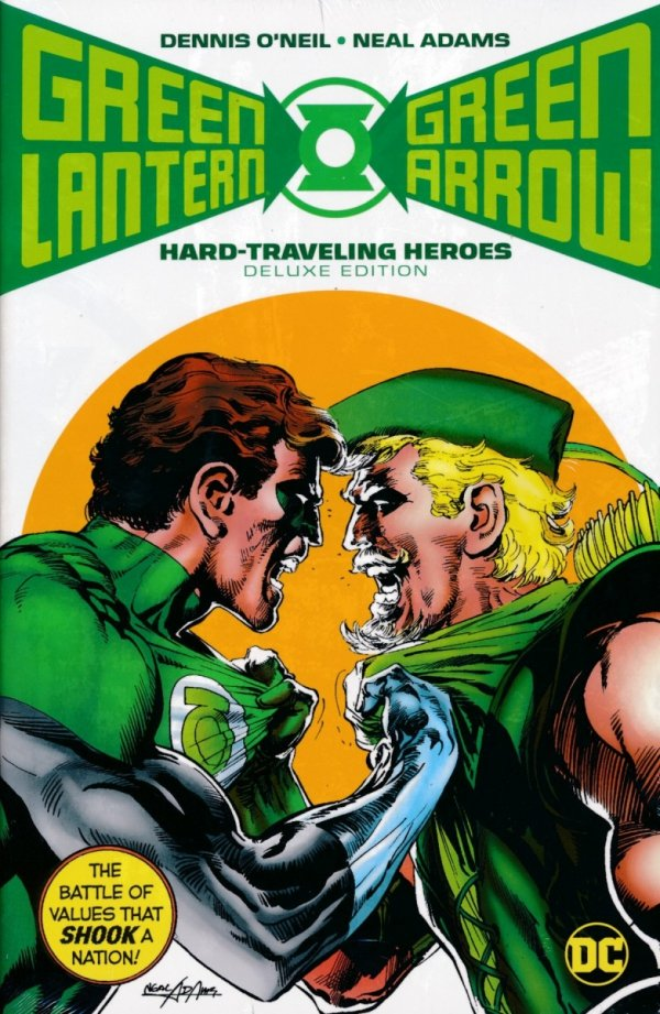 GREEN LANTERN GREEN ARROW HARD-TRAVELING HEROES DELUXE EDITION HC