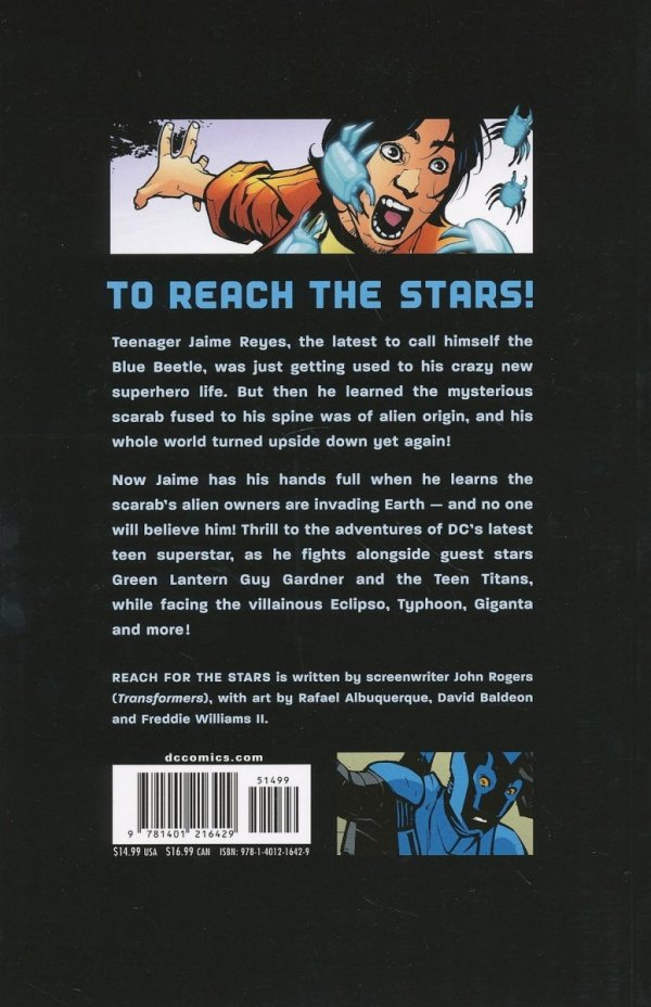 BLUE BEETLE REACH FOR THE STARS SC