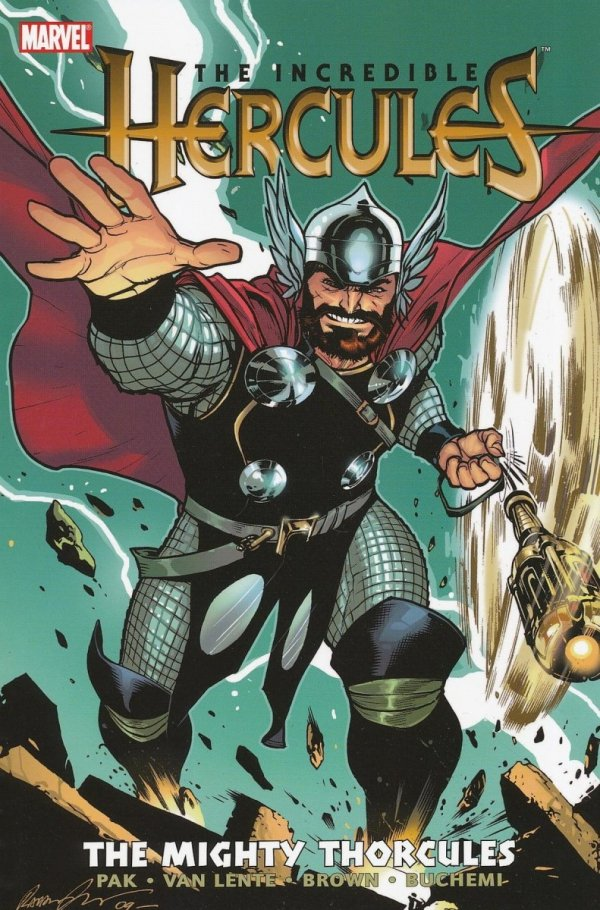 INCREDIBLE HERCULES THE MIGHTY THORCULES SC *