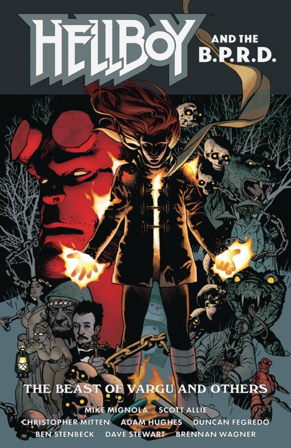 HELLBOY AND THE BPRD BEAST OF VARGU AND OTHERS TP *