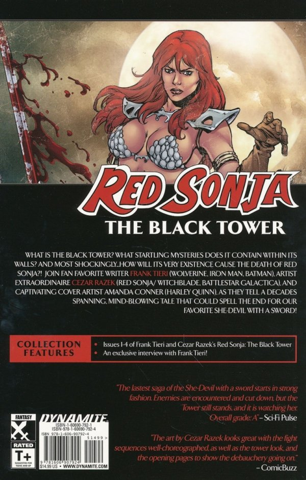 RED SONJA THE BLACK TOWER SC