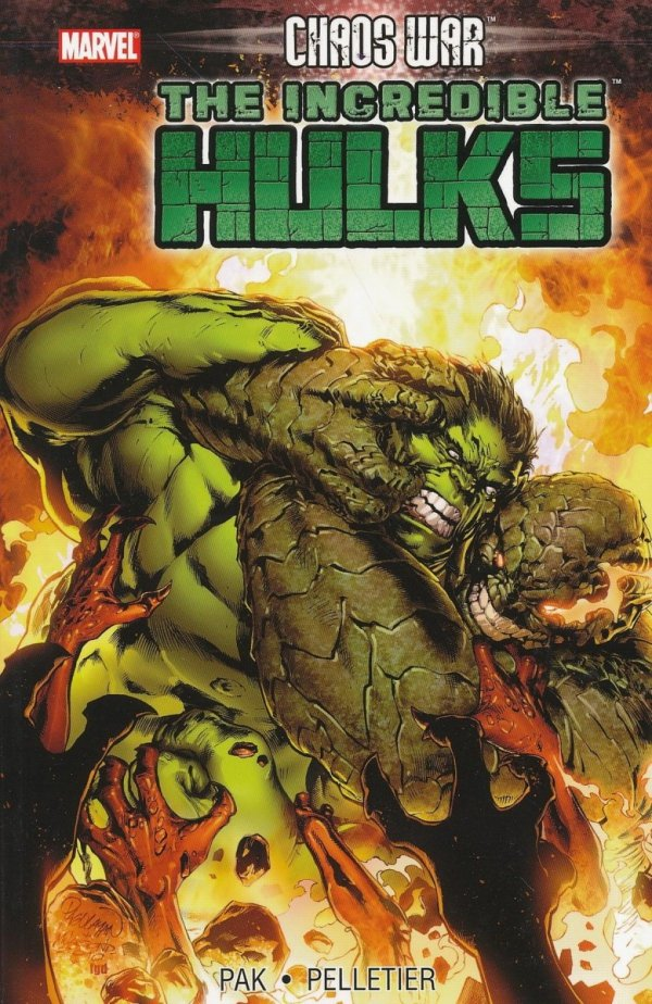 CHAOS WAR THE INCREDIBLE HULKS SC **