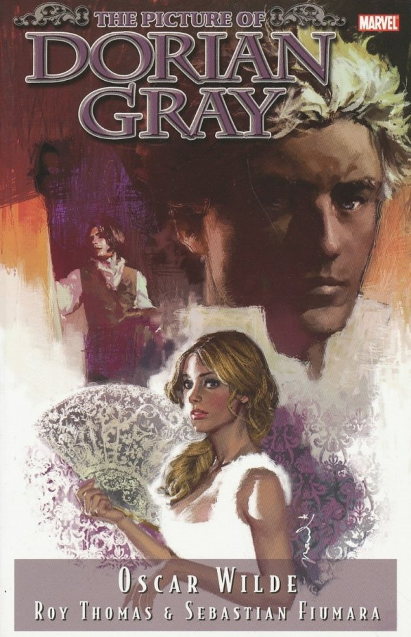 MARVEL ILLUSTRATED THE PICTURE OF DORIAN GRAY SC (SALEństwo)