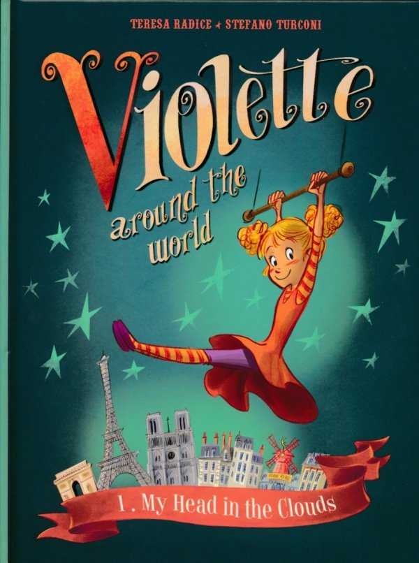 VIOLETTE AROUND THE WORLD HC VOL 01 MY HEAD IN THE CLOUDS