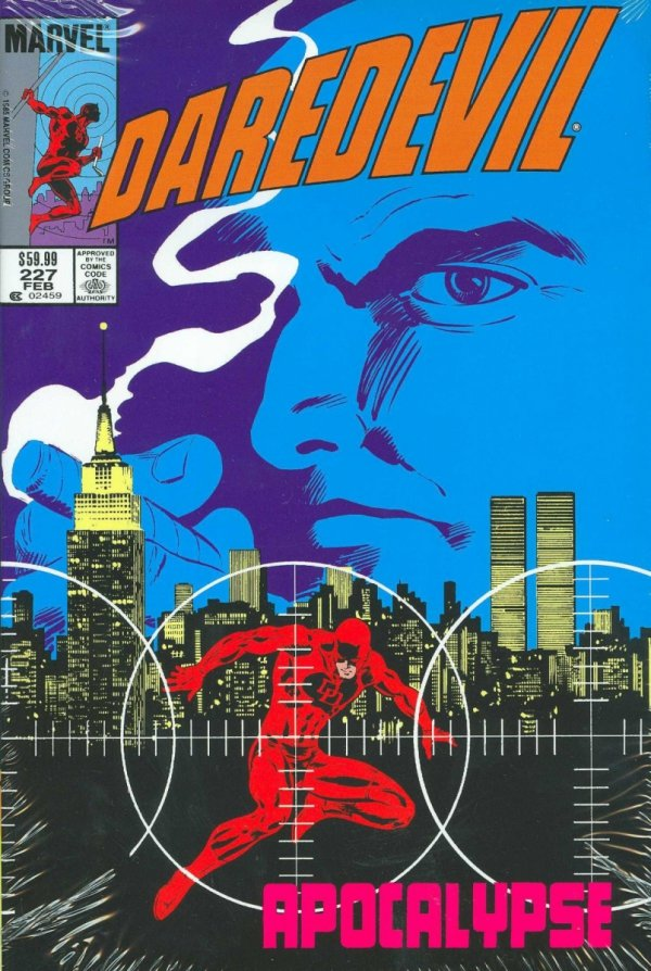 DAREDEVIL BY FRANK MILLER COMPANION OMNIBUS HC (OLD EDITION) (VARIANT COVER) **