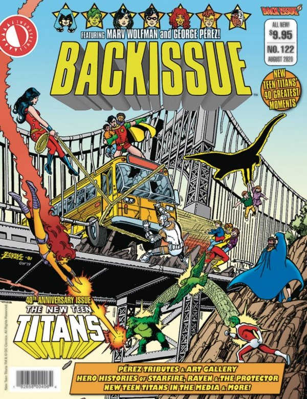 BACK ISSUE #122 *
