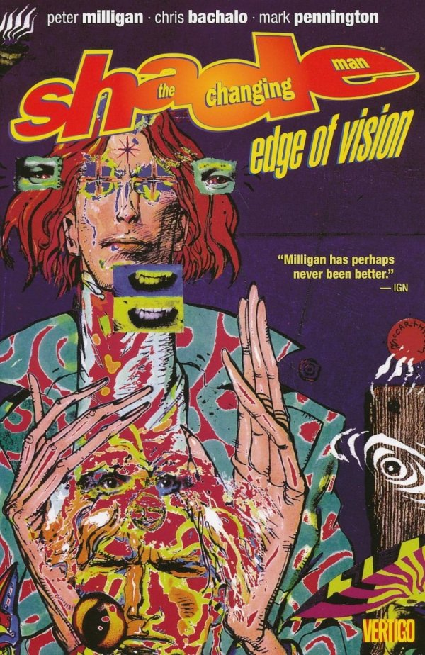 SHADE THE CHANGING MAN VOL 02 EDGE OF VISION SC