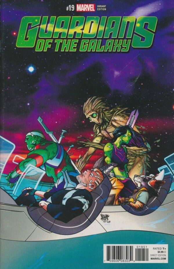 GUARDIANS OF THE GALAXY #19 FERRY VAR