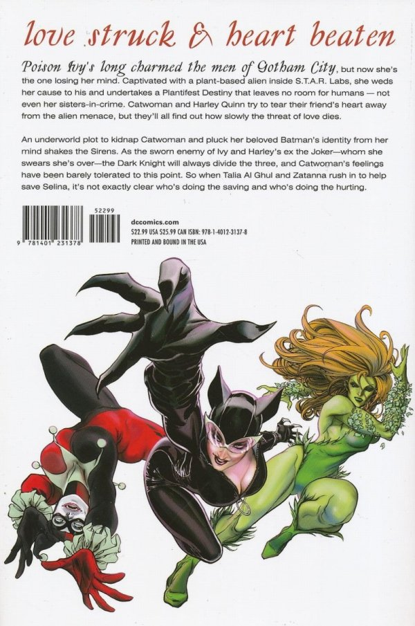 GOTHAM CITY SIRENS STRANGE FRUIT HC