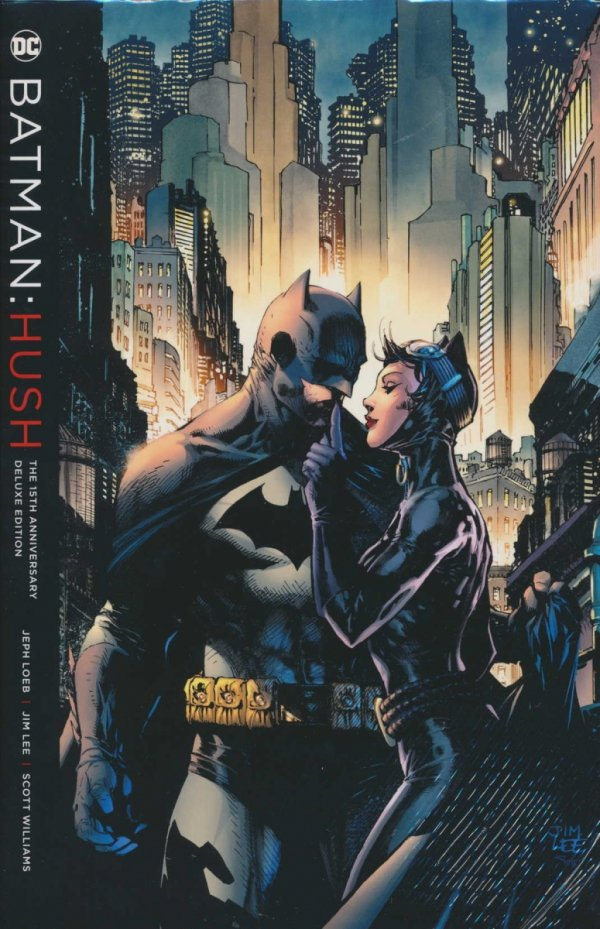 BATMAN HUSH THE 15TH ANNIVERSARY DELUXE EDITION HC