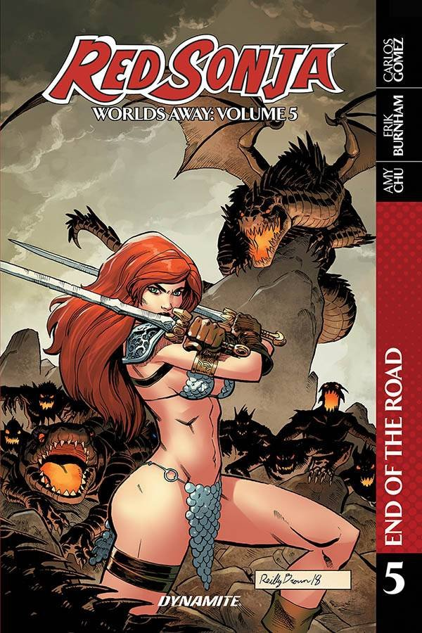 RED SONJA WORLDS AWAY TP VOL 05 END OF ROAD *