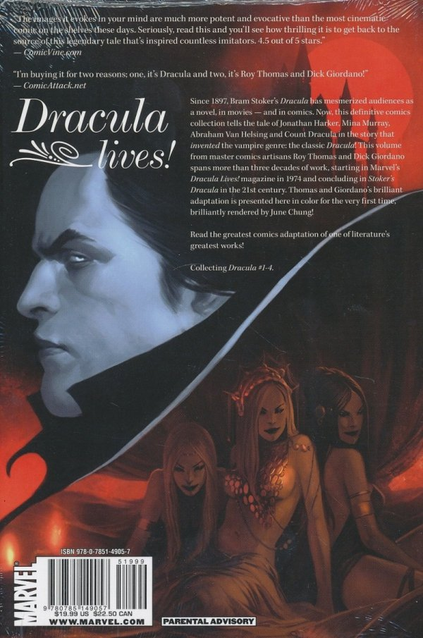 MARVEL ILLUSTRATED DRACULA HC *