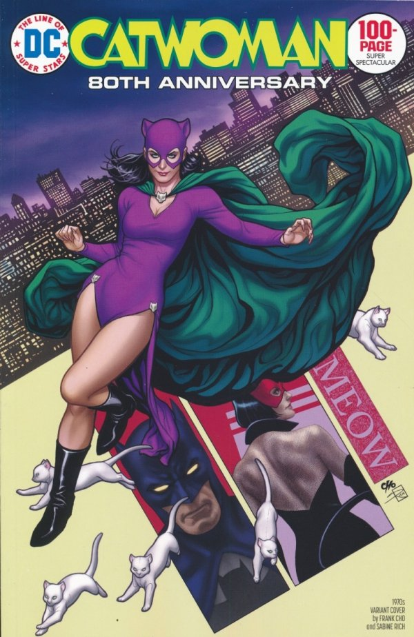 CATWOMAN 80TH ANNIV 100 PAGE SUPER SPECT #1 1970S FRANK CHO VAR