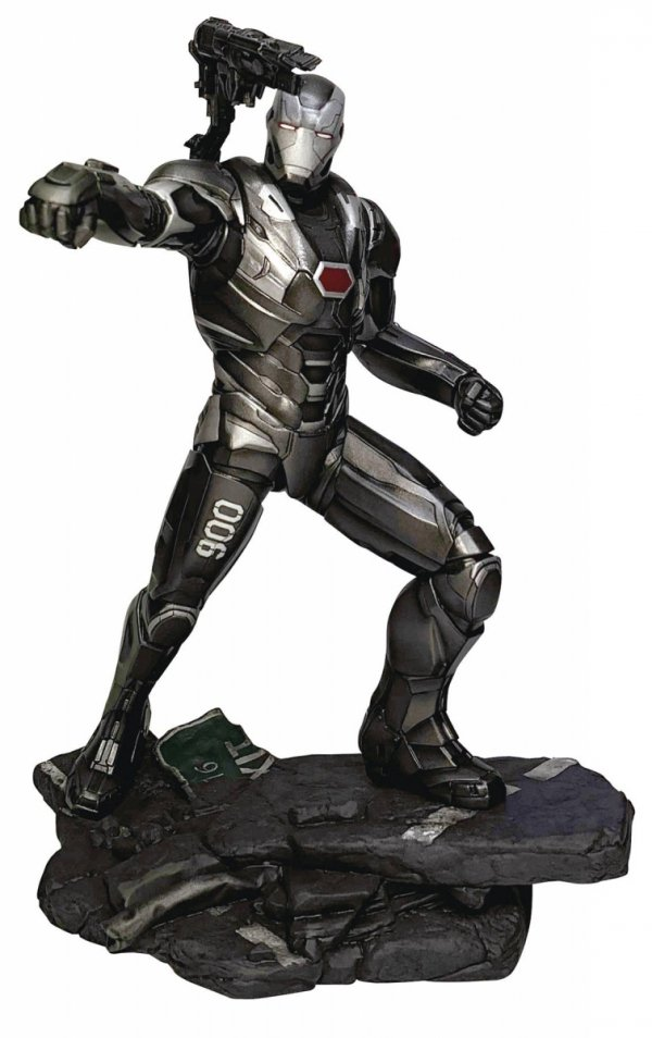 MARVEL GALLERY AVENGERS ENDGAME WAR MACHINE PVC STATUE