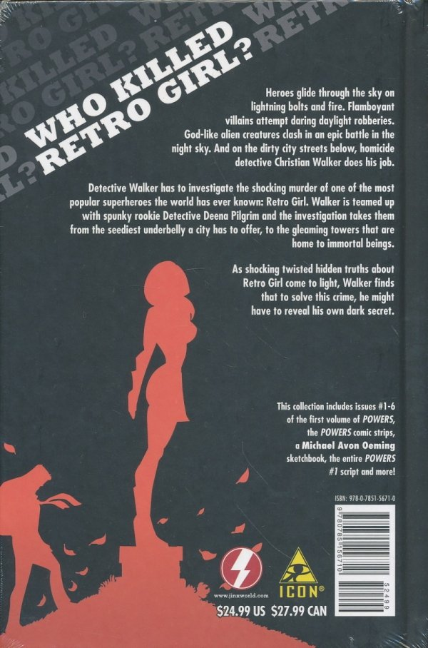 POWERS VOL 01 WHO KILLED RETRO GIRL HC
