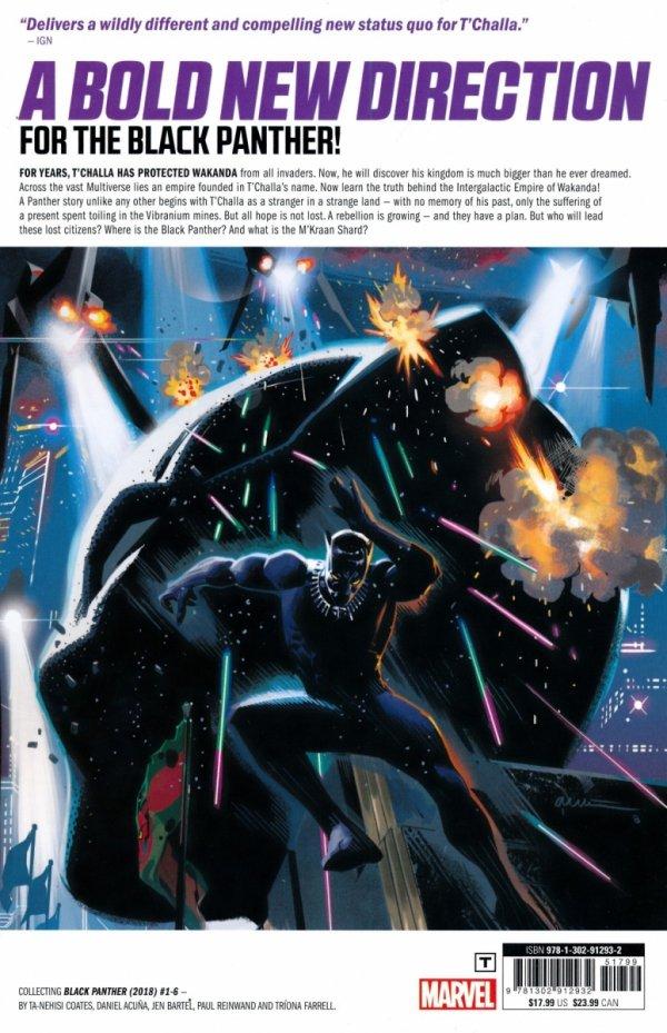 BLACK PANTHER VOL 06 THE INTERGALACTIC EMPIRE WAKANDA PART 1 SC