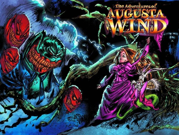 ADVENTURES OF AUGUSTA WIND HC VOL 01 *