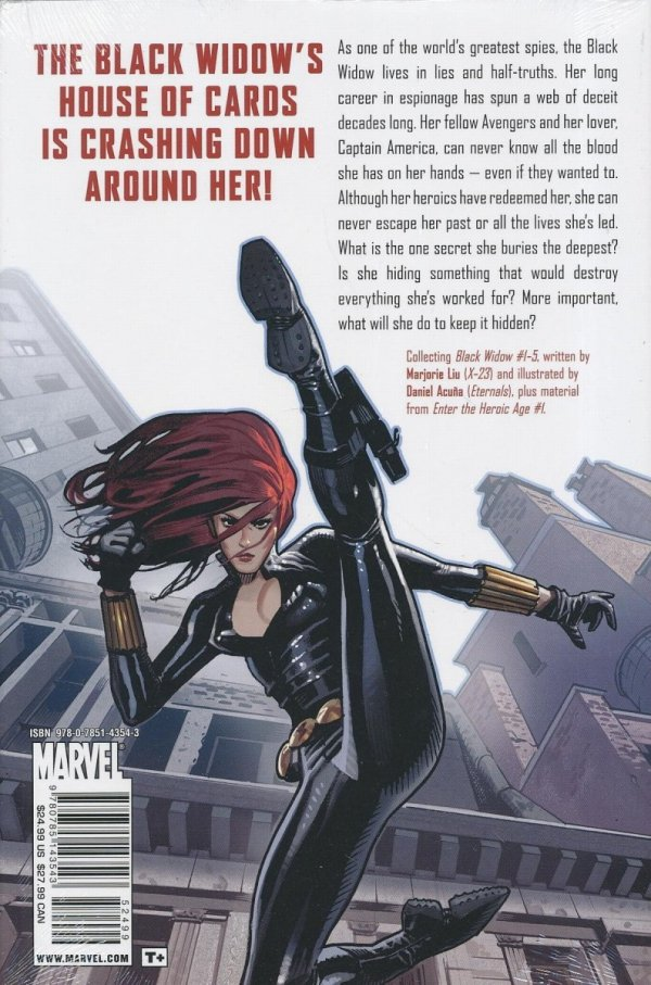 BLACK WIDOW THE NAME OF THE ROSE HC *