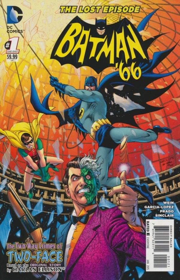 BATMAN 66 THE LOST EPISODE #1 VAR