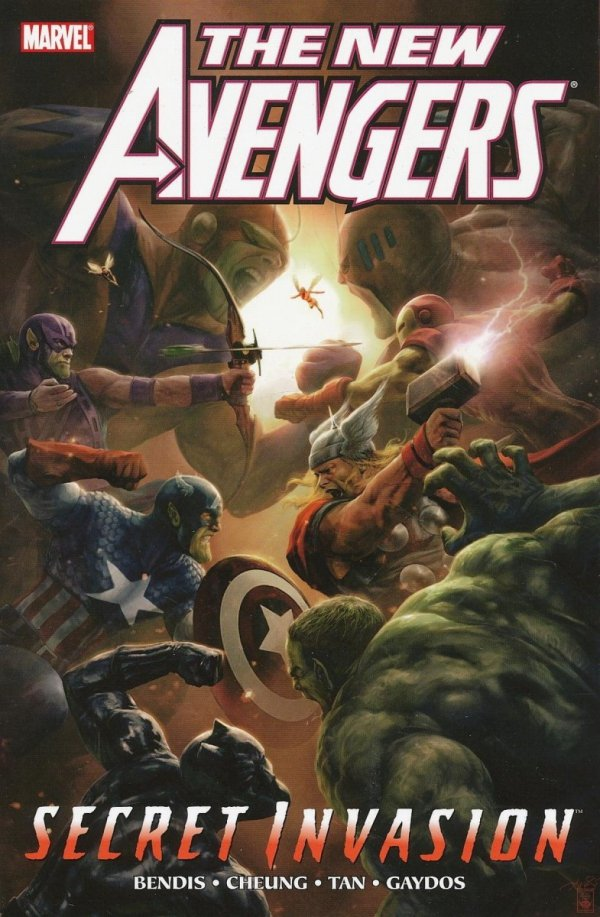 NEW AVENGERS VOL 09 SECRET INVASION PART 2 SC (STANDARD COVER)