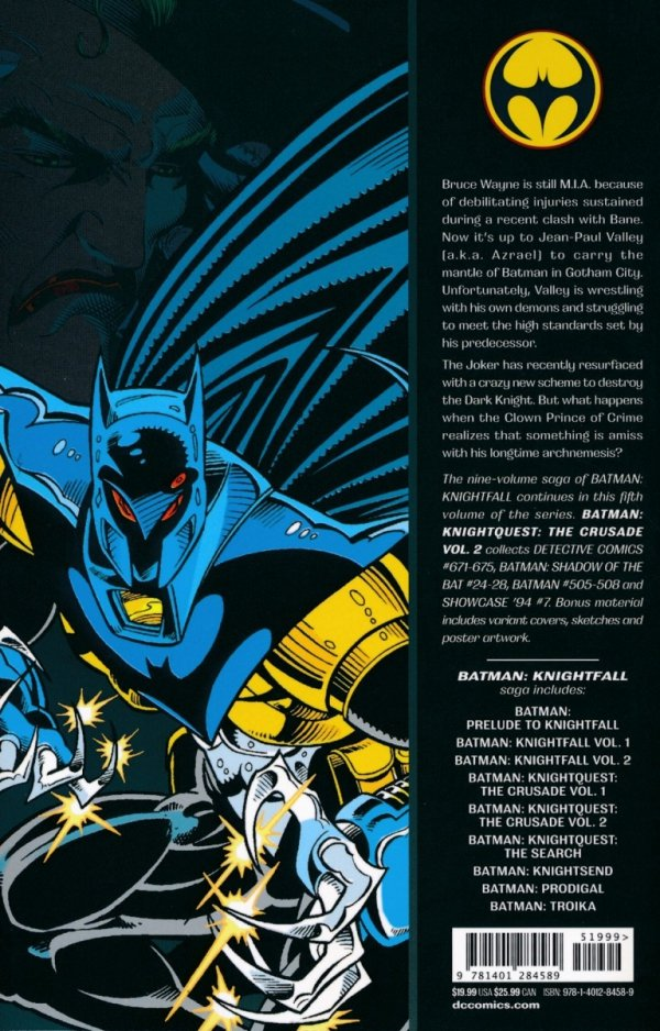 BATMAN KNIGHTQUEST THE CRUSADE VOL 02 SC *