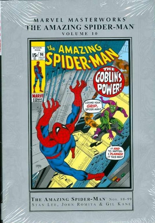 MARVEL MASTERWORKS THE AMAZING SPIDER-MAN VOL 10 HC (STANDARD COVER) *