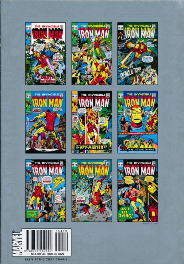 MARVEL MASTERWORKS THE INVINCIBLE IRON MAN VOL 07 HC (STANDARD COVER)