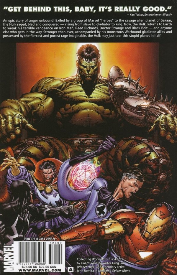 HULK WWH WORLD WAR HULK SC (OLD EDITION)