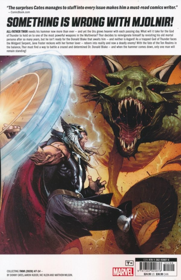 THOR BY DONNY CATES TP VOL 02 PREY