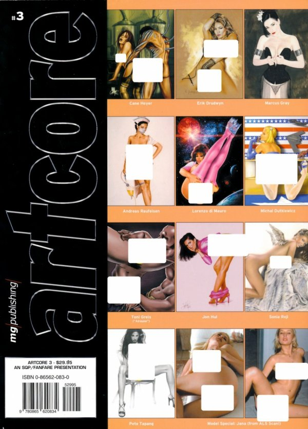 ARTCORE VOL 03 SC (ADULT)