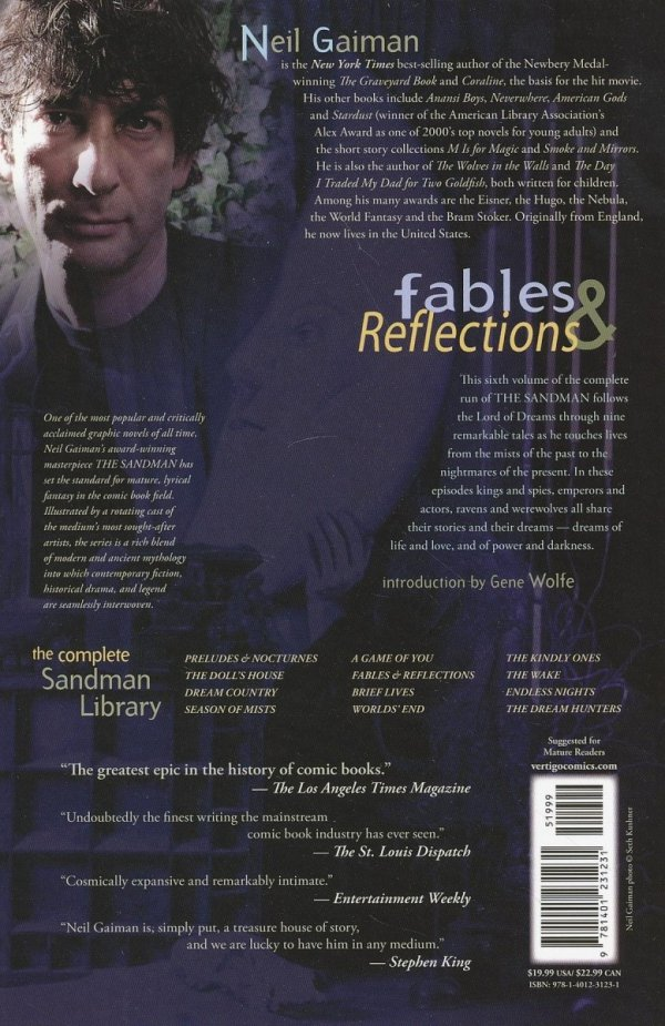 SANDMAN VOL 06 FABLES AND REFLECTIONS SC (OLD EDITION)