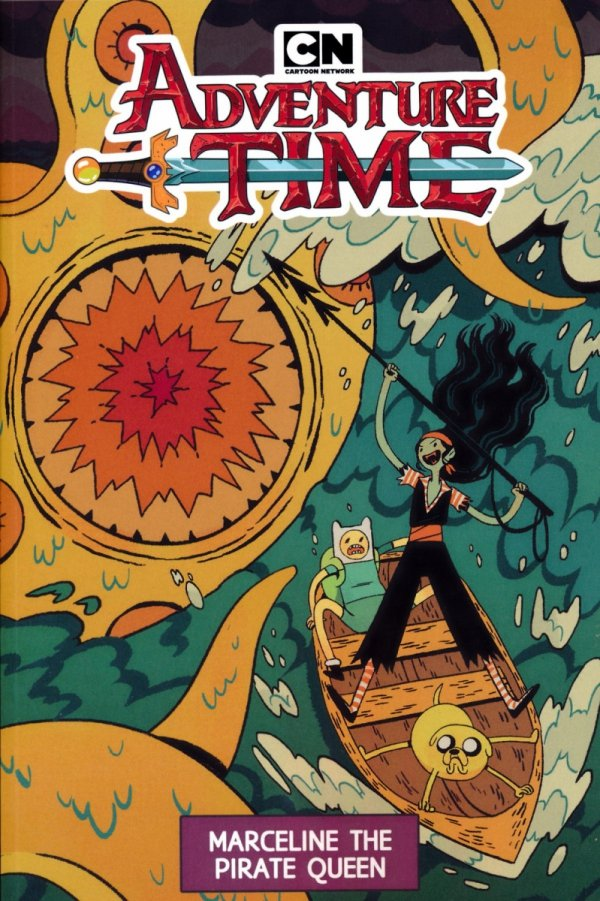 ADVENTURE TIME VOL 13 MARCELINE THE PIRATE QUEEN SC
