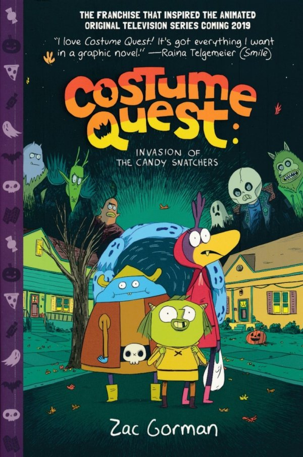 COSTUME QUEST INVASION OF THE CANDY SNATCHERS SC