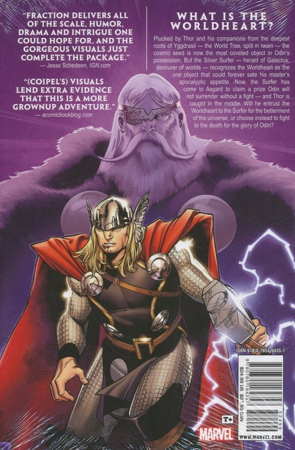 MIGHTY THOR VOL 01 HC (VARIANT COVER)