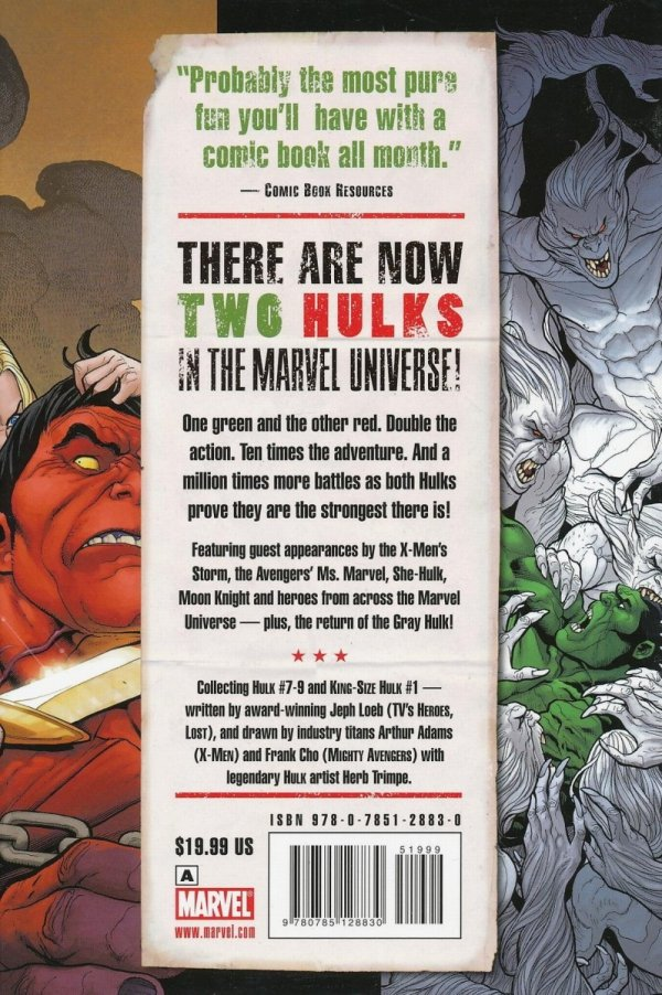 HULK VOL 02 RED AND GREEN HC (STANDARD COVER)