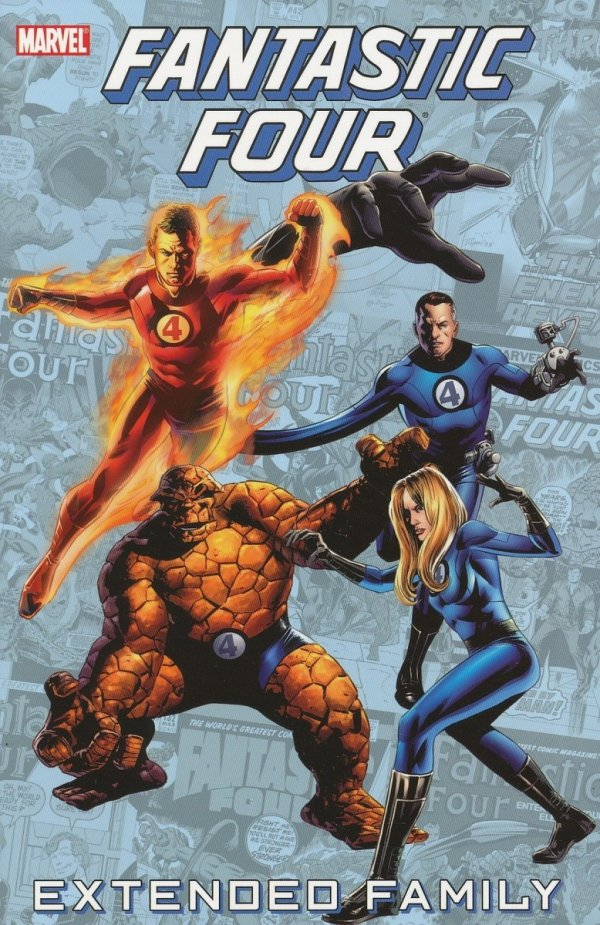FANTASTIC FOUR EXTENDED FAMILY TP